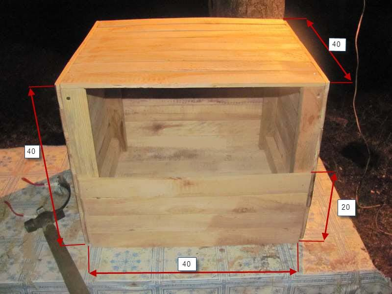 Ящики для кладки куриных яиц