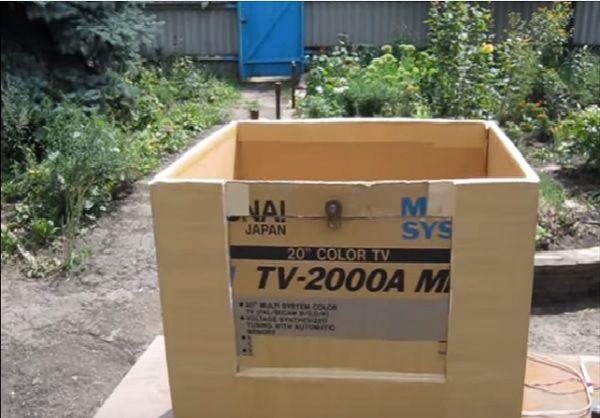 Инкубатор из картонной коробки  советы 196