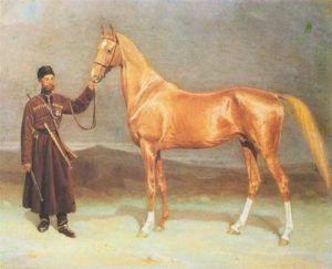 Андалузская лошадь портрет
