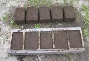 Навозные блоки для отопления