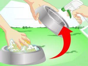 Промойте сосуды с водой и замените их