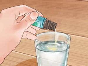 Разбавление раствора водой
