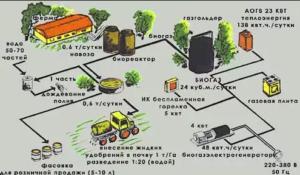 Схема применения биопрепаратов для переработки навоза