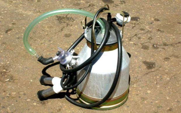 Переносной доильный аппарат