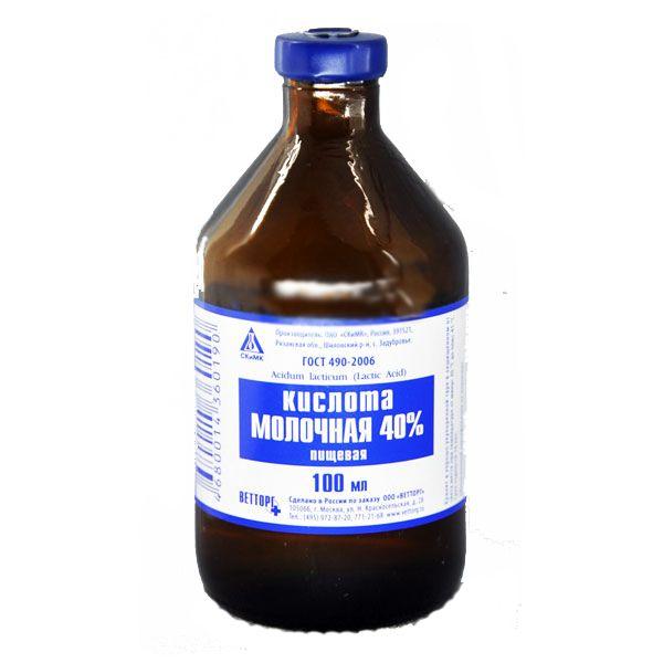 Молочную кислоту также можно использовать для профилактики кокцидиоза