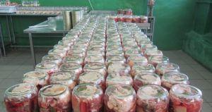Цех по производству консервов