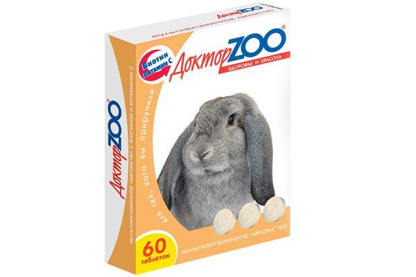 Мультивитаминная добавка Доктор Zoo