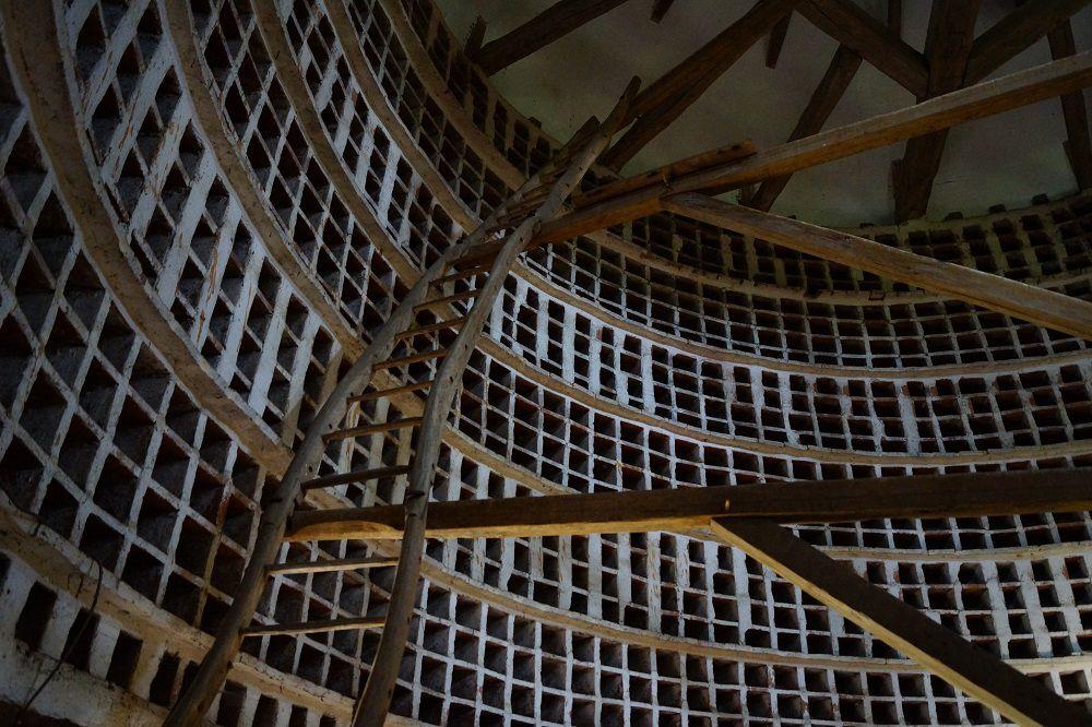 Голубятня на 3200 голубей в замке Эпуасс