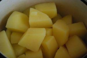 Запаренный картофель
