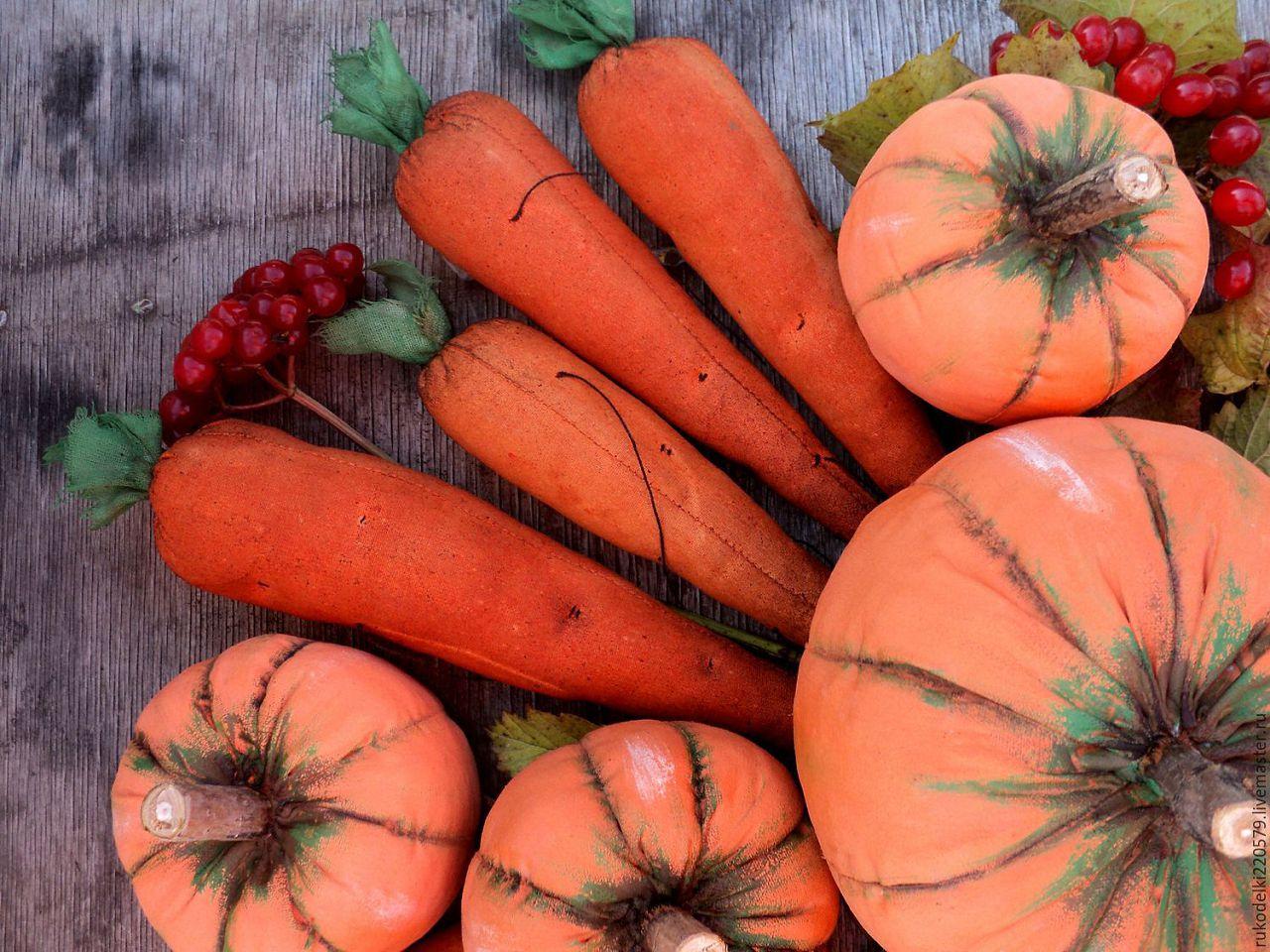 Зимой потребность в сочной пище удовлетворяется тыквой и морковью