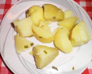 Картофель отварной, г