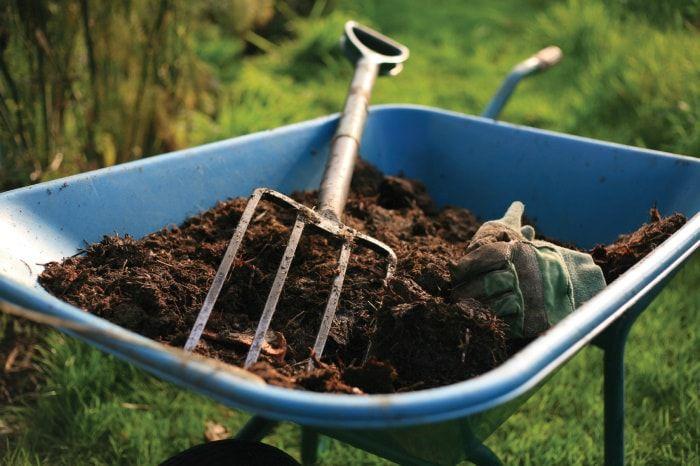 Козий помёт является хорошим органическим удобрением для растений
