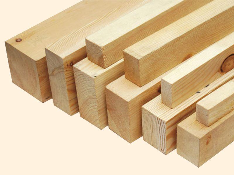 Лучший материал для утятника - деревянный брус 7-12 см