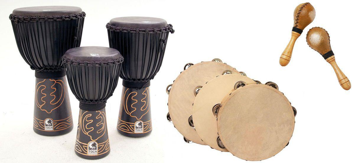 Музыкальные инструменты из козьей кожи