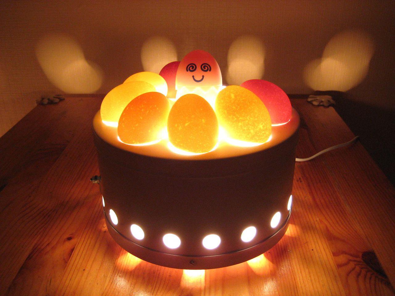 Овоскопия яиц