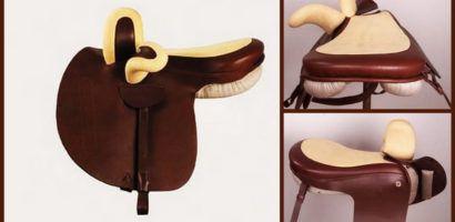 Особенность строения дамского седла - наличие двух лук