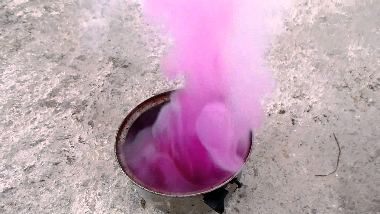 Прокурка телят однохлористым йодом с алюминием