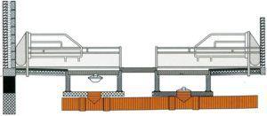 Схема строения системы навозоотделения