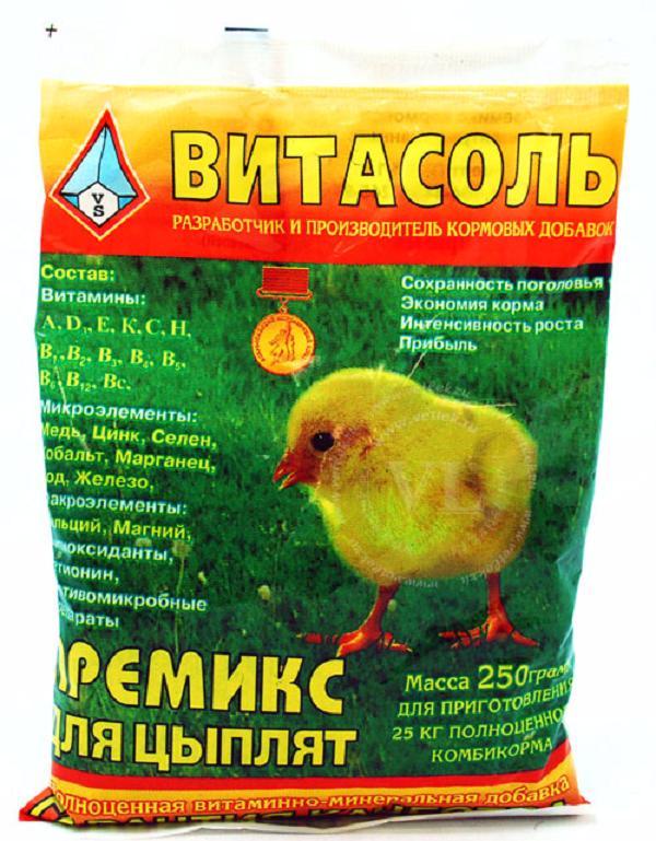Кормовая добавка для цыплят