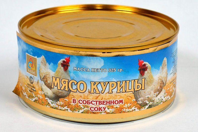 Мясо птиц из неблагополучных хозяйств используется для консервирования