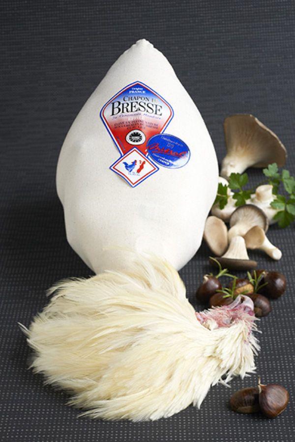Тушка Бресс Галльской курицы