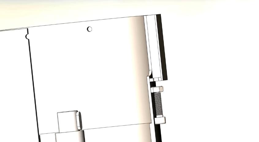 6. Вкручивание винтов с внутренним шестигранником
