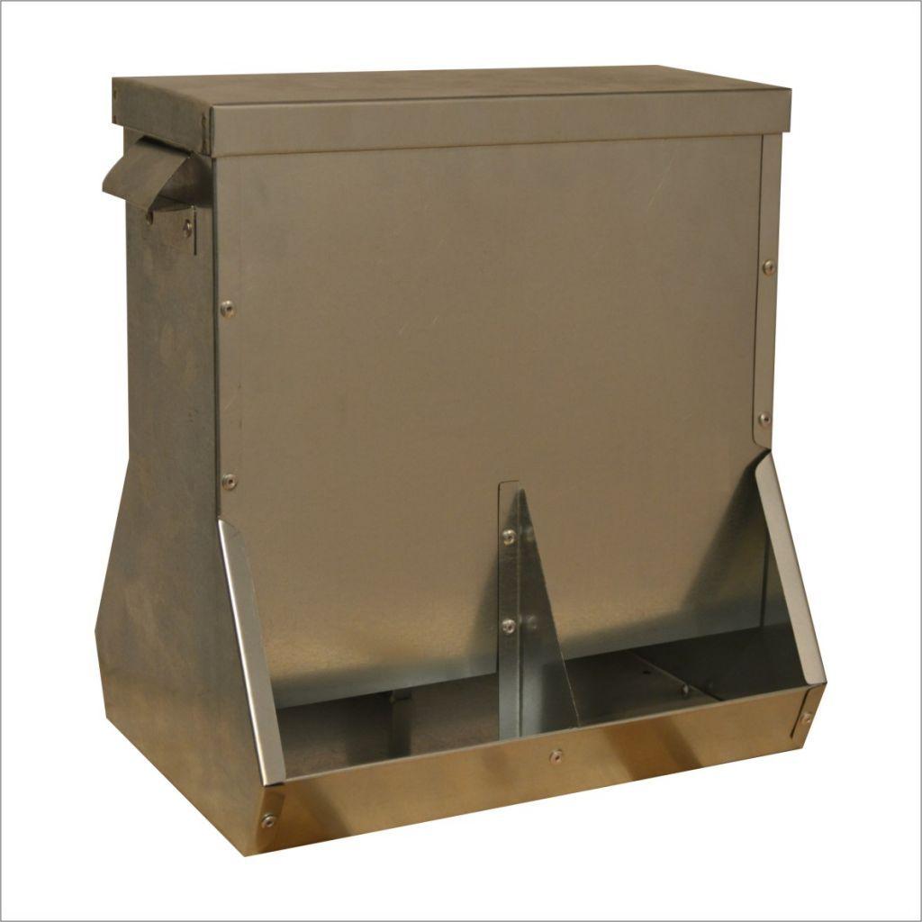Бункерная конструкция кормушки