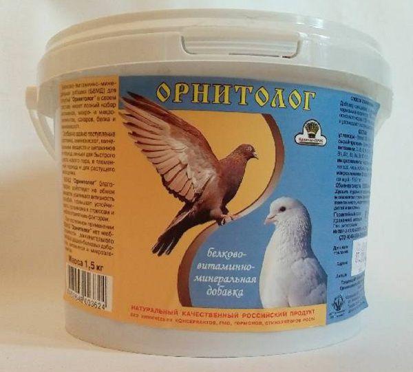 Витаминная добавка для декоративных голубей