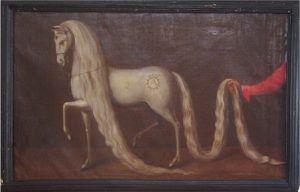 Жеребец Кренич, живопись 1640 года