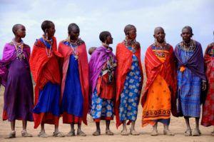 Жители Африки имеют сухое телосложение из-за недостатка белковой пищи