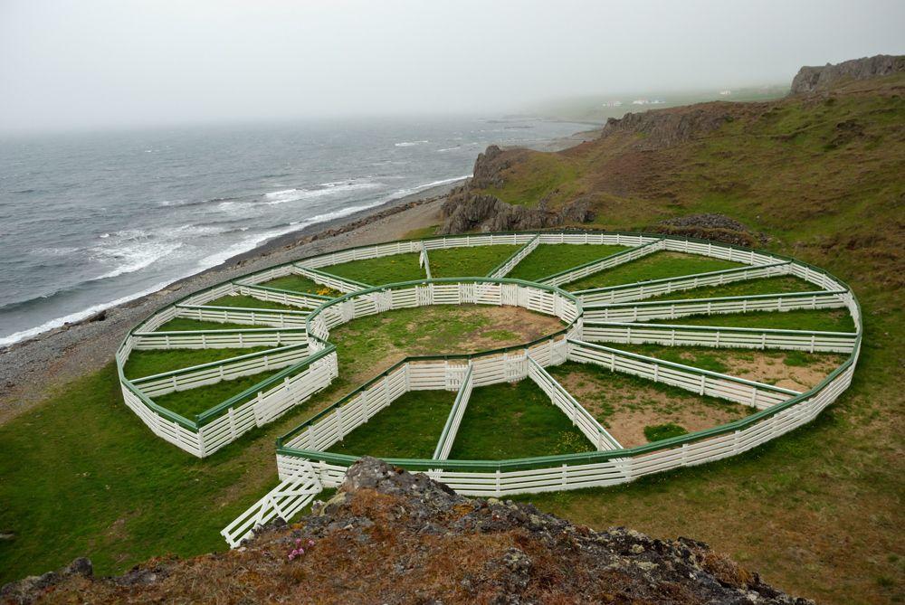 Загон для овец, Исландия