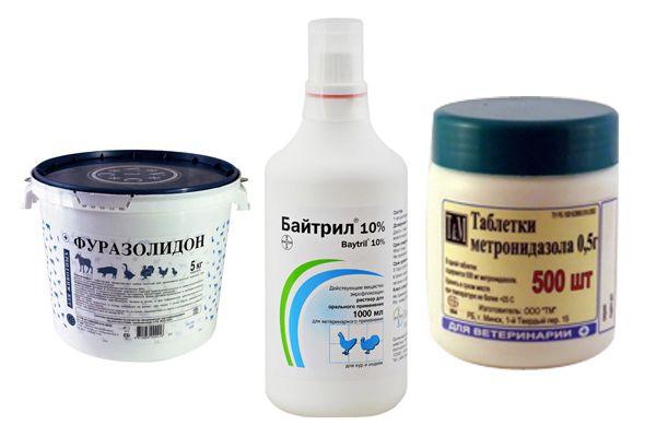 Препараты для гусят