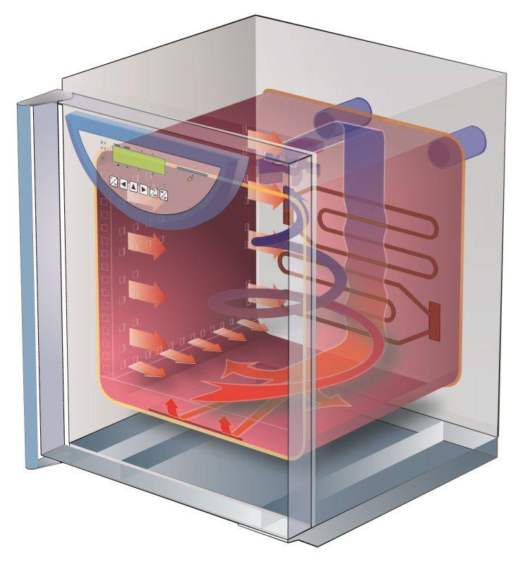 Система вентиляции в инкубаторе