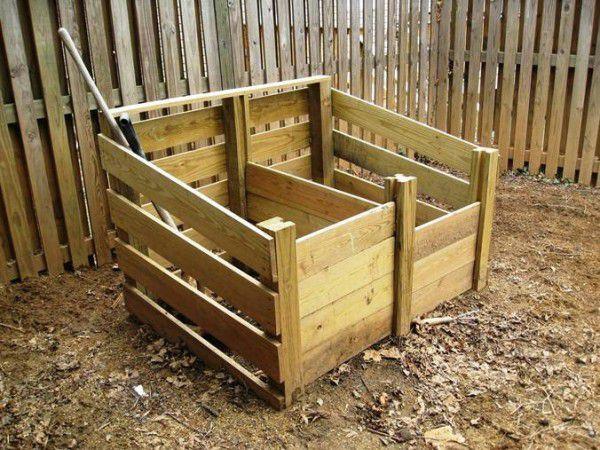 Ящики для хранения кроличьего навоза