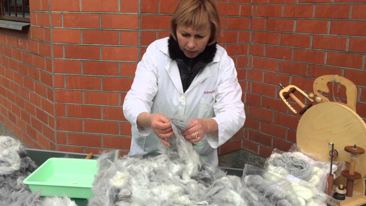 Очень важно провести качественную сортировку шерсти