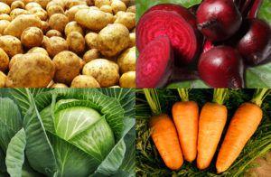 Овощи, которые будут полезны