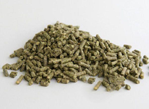 Магазинный корм для шиншилл содержит в себе все необходимые животным питательные вещества