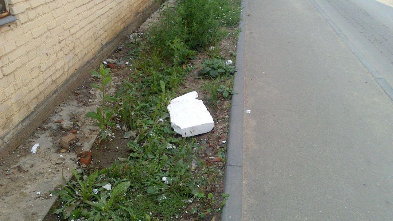 Всегда следует убирать остатки строительного мусора
