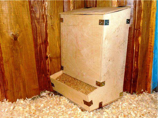 Кормушка-ящик