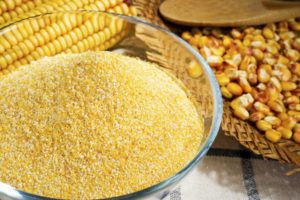 Измельченная кукуруза