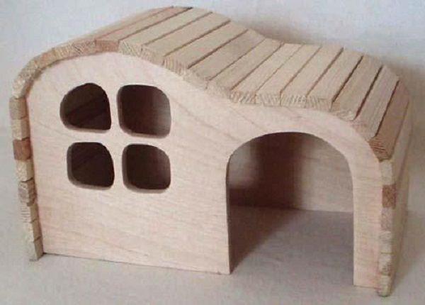 Домик для шиншиллы, выполненный своими руками