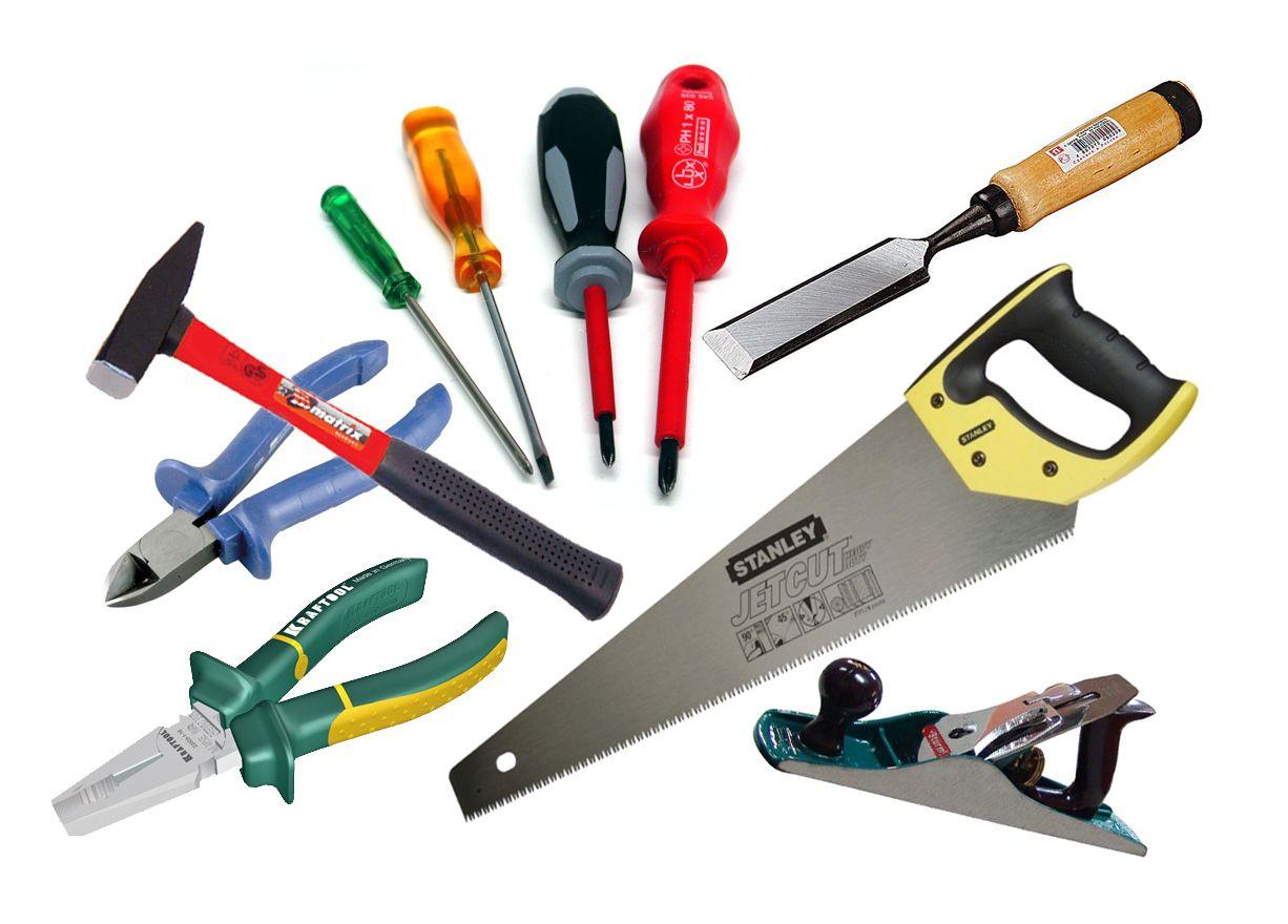 Набор инструментов стандартный и найдется в любом хозяйстве