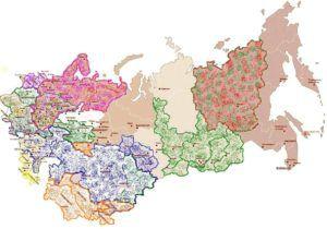 Зоны овечьего животноводства в России и странах СНГ
