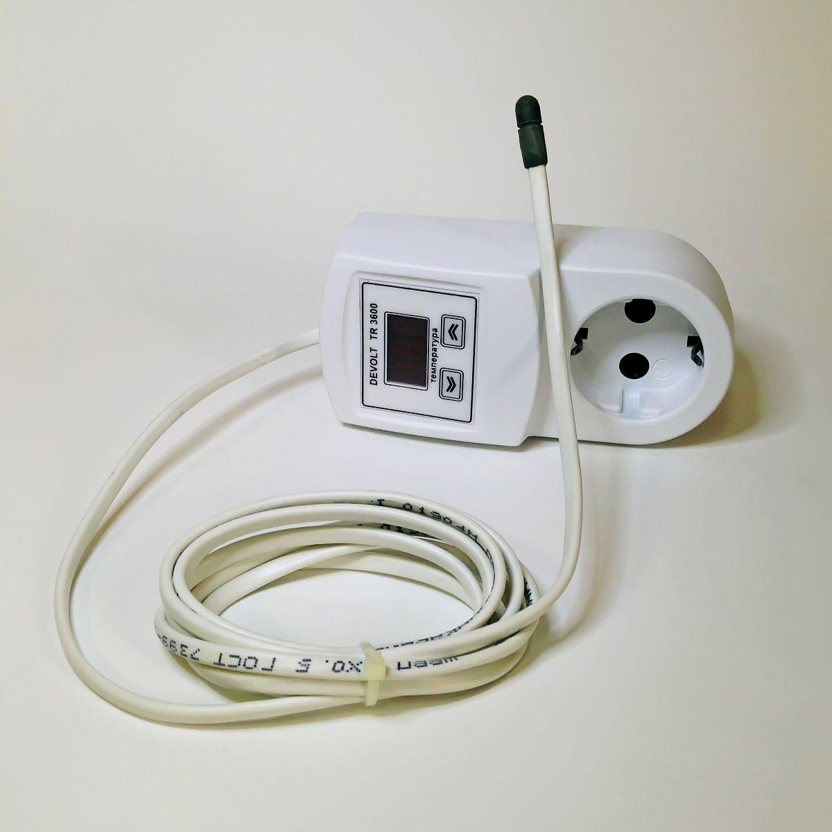 Терморегулятор с датчиком