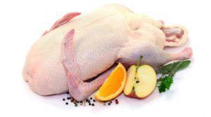 Гусятина содержит множество витаминов и полезных минералов
