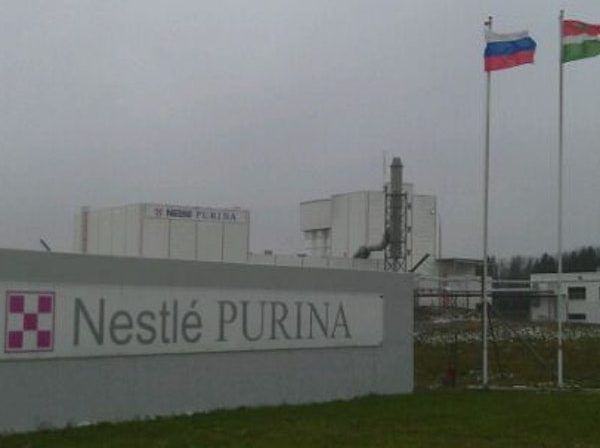Завод по производству кормов Purina