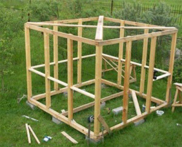 Дополнение каркасной конструкции