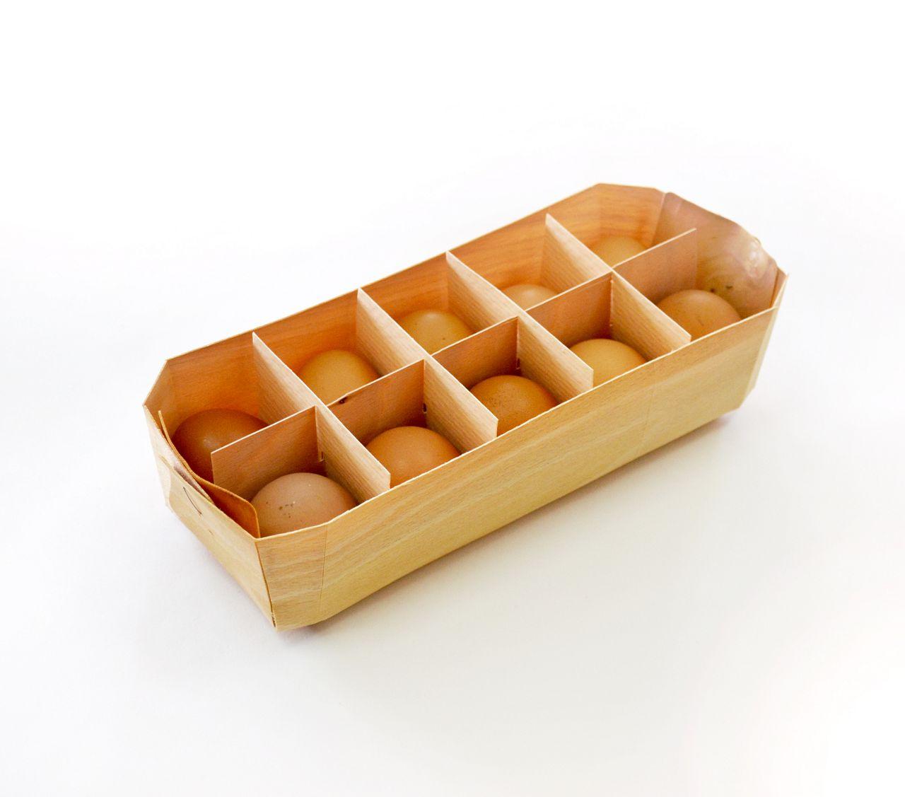 Яйца предпочтительнее размещать в упаковке