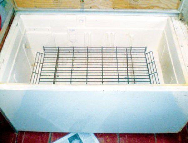 Очень важно тщательно отмыть холодильник перед превращением в инкубатор