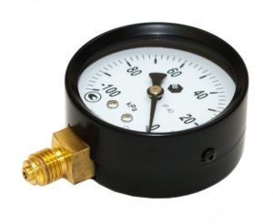 Контролируйте уровень вакуума в аппарате